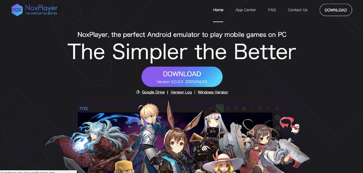 NOX PLAYER android emulator for windows and mac